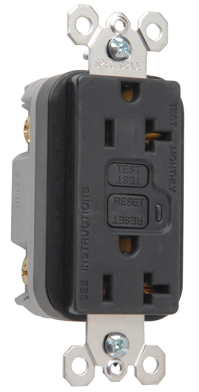 Legrand-Pass & Seymour 2095I Trademaster GFCI Receptacle 20 Amp 125 ...