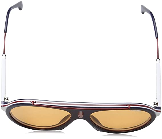14dc60e789 Amazon.com  Carrera Flag CARRERA FLAG 8RUW7 (Blue - Bordeaux with Plum  lenses)  Clothing