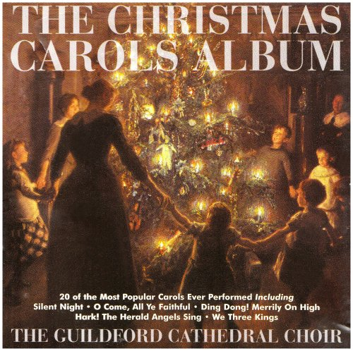 """Lighted 8 Song Musical Holiday Christmas Carolers Choir: Release """"The Christmas Carols Album"""" By Guildford"""