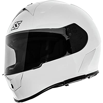 Speed & Strength SS900 Helmet - Solid Speed (X-Small) (Gloss White): Automotive