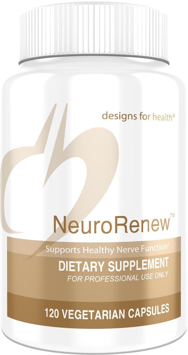 Designs for Health - NeuroRenew Nerve & Brain Support, 120 Capsules