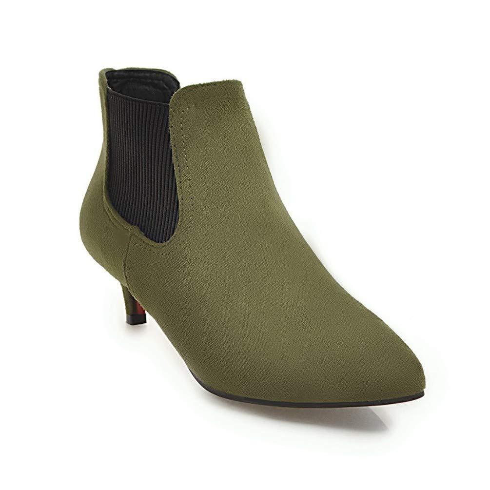 Bottes Femme | Bottines | Bottes pour 16034 Femmes | avec pour Bottes Fines et Courtes. Green 0933551 - jessicalock.space