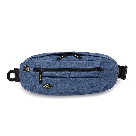 MeiLiio Messenger Bag Fashion Sports Waist Bag Anti-theft Lightweight Waterproof Chest Crossbody Running Pocket