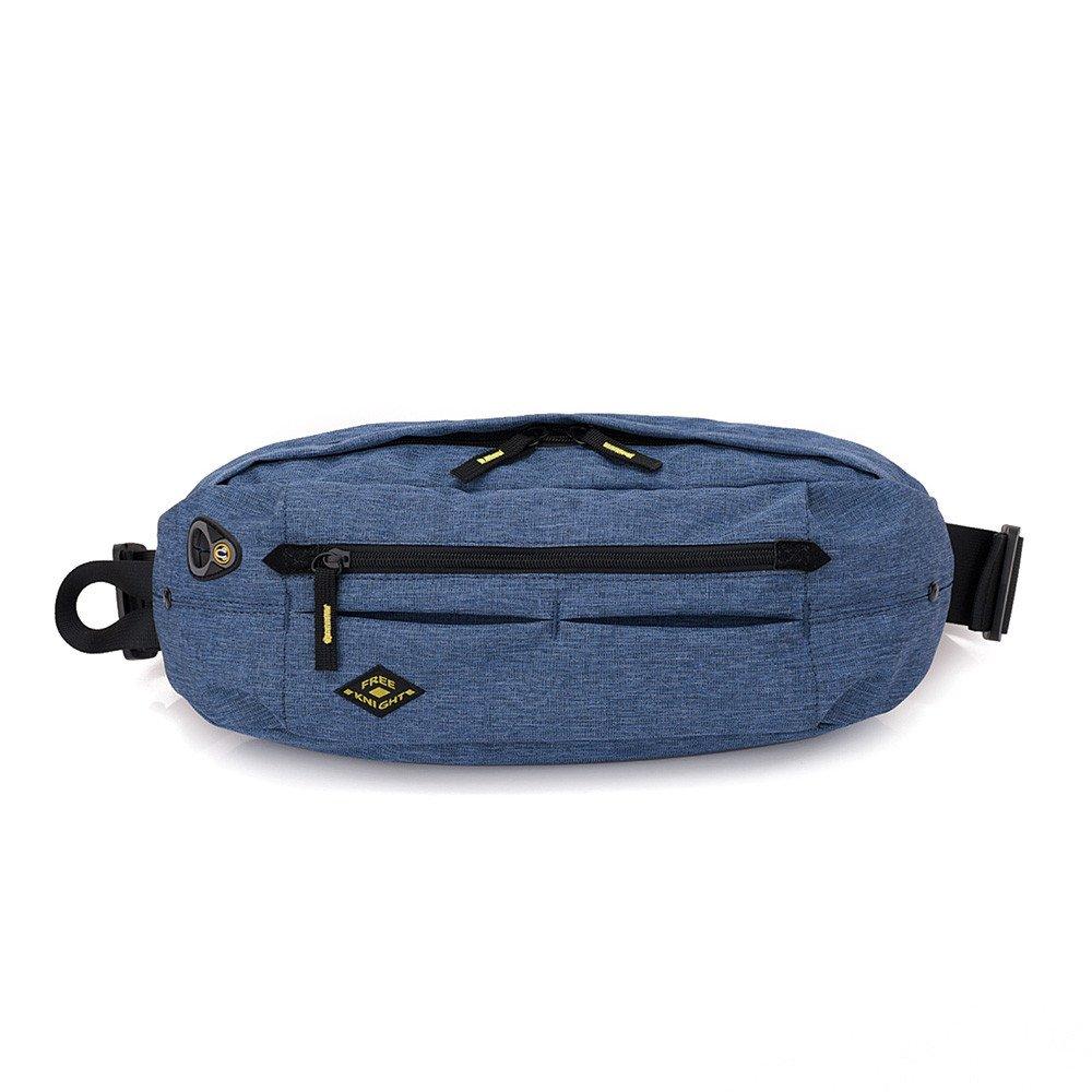 KingTo Lightweight Fashion Waist Bag,Waterproof Chest bag, with Earphone Hole for Men Women