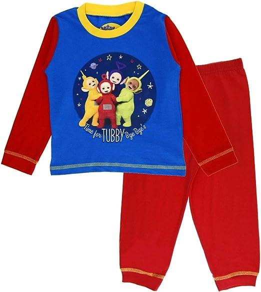 Boys Pyjamas Teletubbies Pjs Friends Forever T-Shirt Short Kids 3 to 6 Years