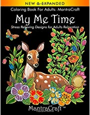 Coloring Book for Adults: MantraCraft: My Me Time: Stress Relieving Designs for Adults Relaxation