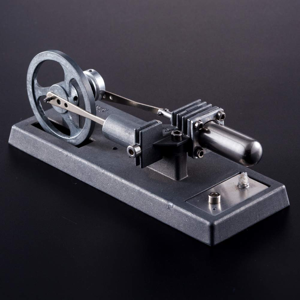 At27clekca QX6 DIY Assembly Low Temperature Stirling Engine Hot Power Generator Steam Heat Education Motor Physical Model Toy Kit by At27clekca (Image #4)