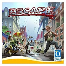Queen Games QUG10032 Escape from Zombie City Board Game