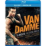 Van Damme 5-Movie Action Pack (Hard Target / The Quest / Street Fighter / Sudden Death / Lionheart) [Blu-ray]
