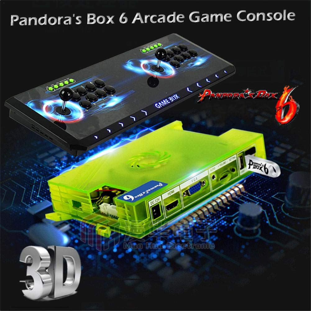 Amazon.com: Moonlight Box Pandora Treasure 3D Box Arcade ...