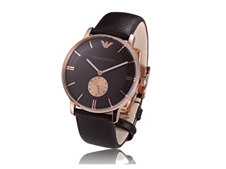 51196ad3ea8 Mens Watches EMPORIO ARMANI ARMANI CLASSICS AR0383  Amazon.co.uk  Watches