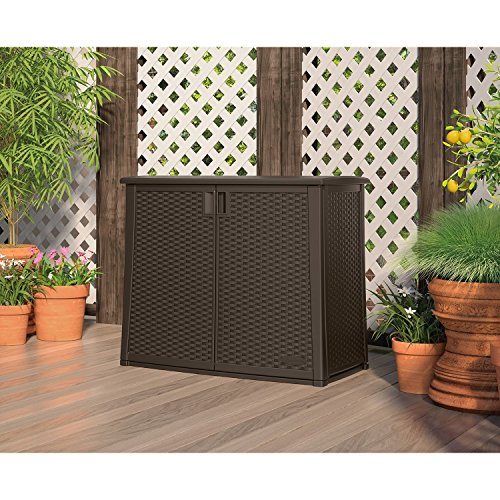 97-Gallon Outdoor Patio Cabinet Storage by Branco