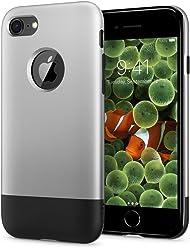 【Spigen】 「10周年限定版」 スマホケース iPhone8 ケース 初代 オリジナル iPhone 完全再現 Classic One 054CS24406 (アルミニウム・グレー)