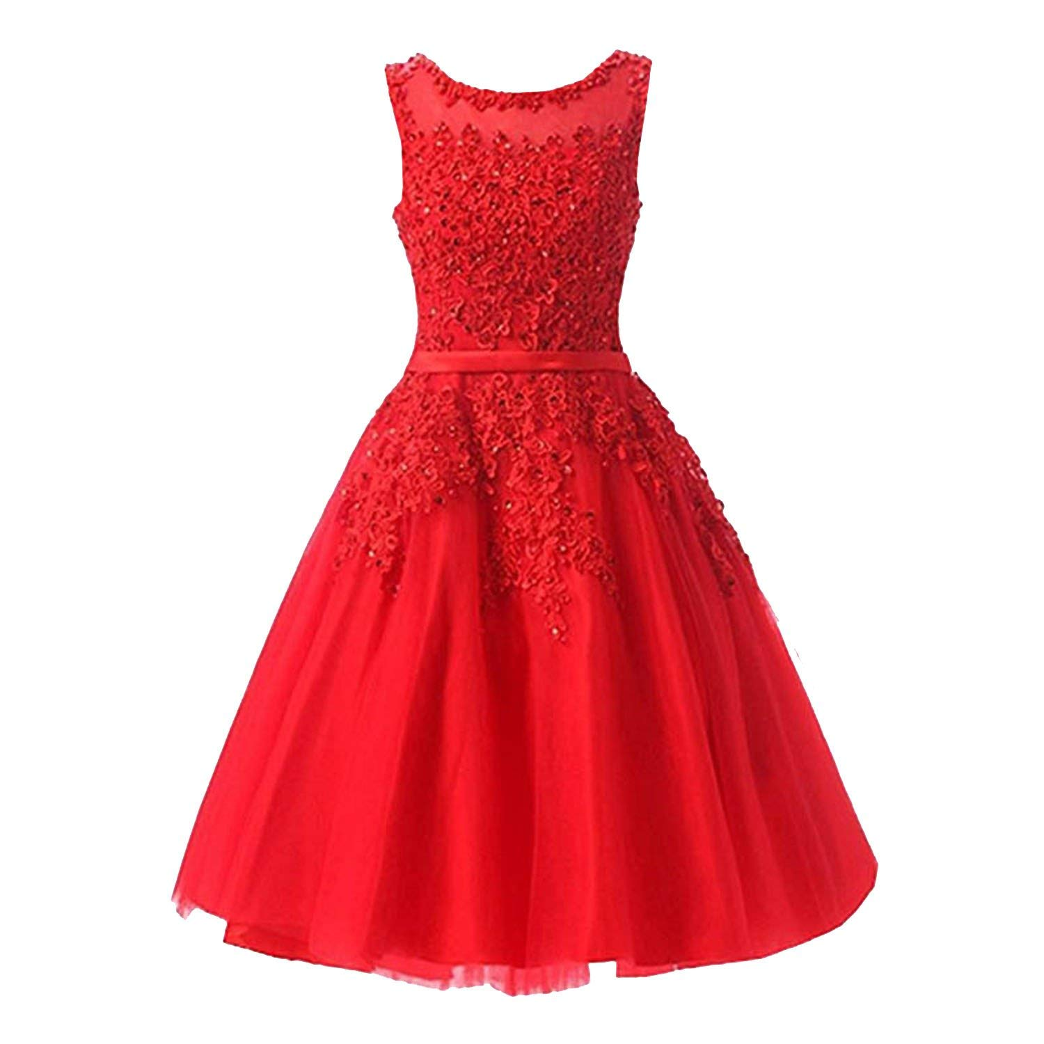 Red230 meetyou Lace Many color Dinner Bridesmaids Dresses Party Short Formal Dress LX073