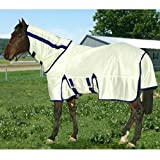 Exselle Fly Sheet and Removable Hood with Repellent, 78-Inch