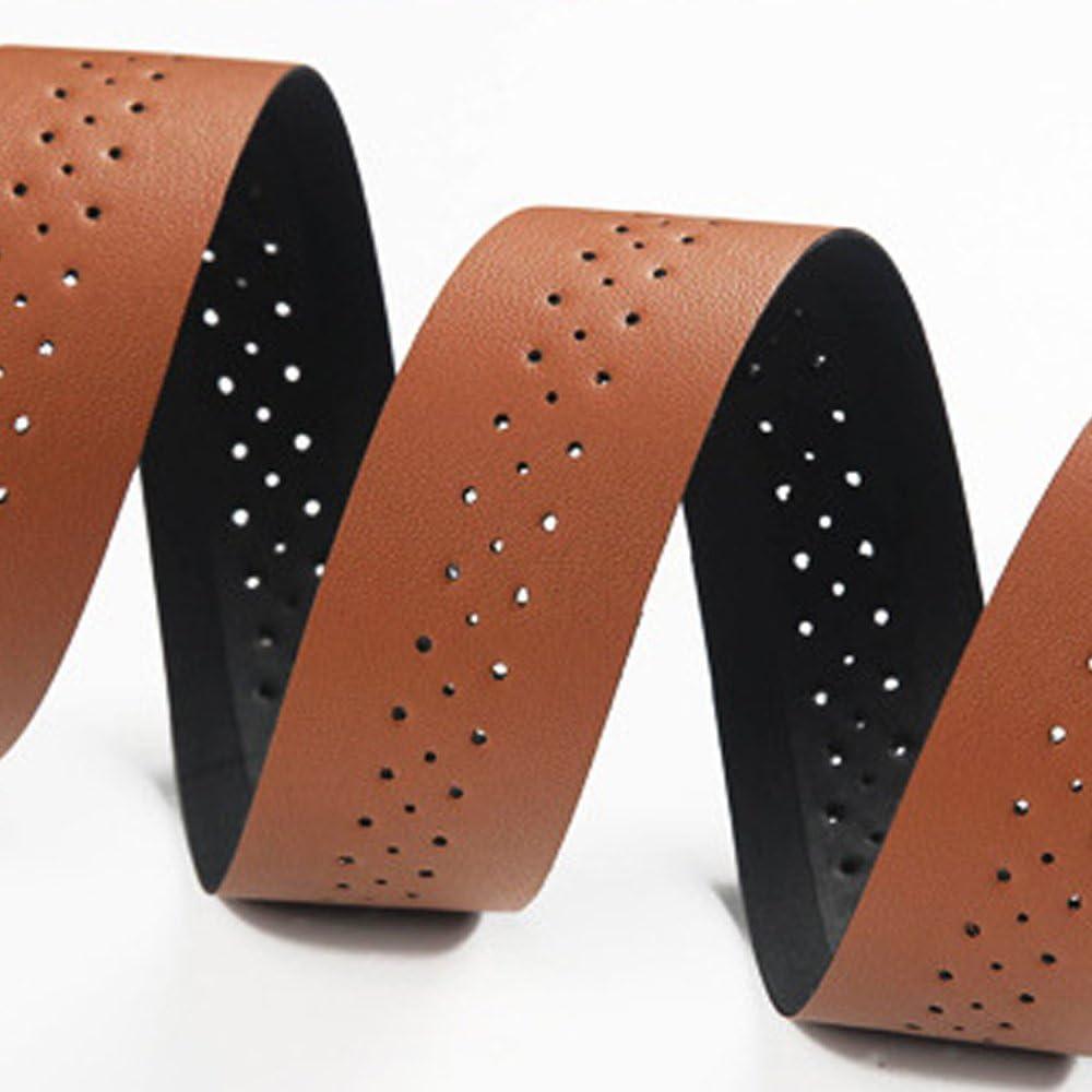 W01070206 Point manillar pinzamientos bicicleta Design pinzamientos de cuero negro ergonómicamente