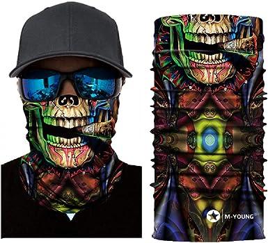 Magic Headwear Plaids Outdoor Scarf Headbands Bandana Mask Neck Gaiter Head Wrap Mask Sweatband