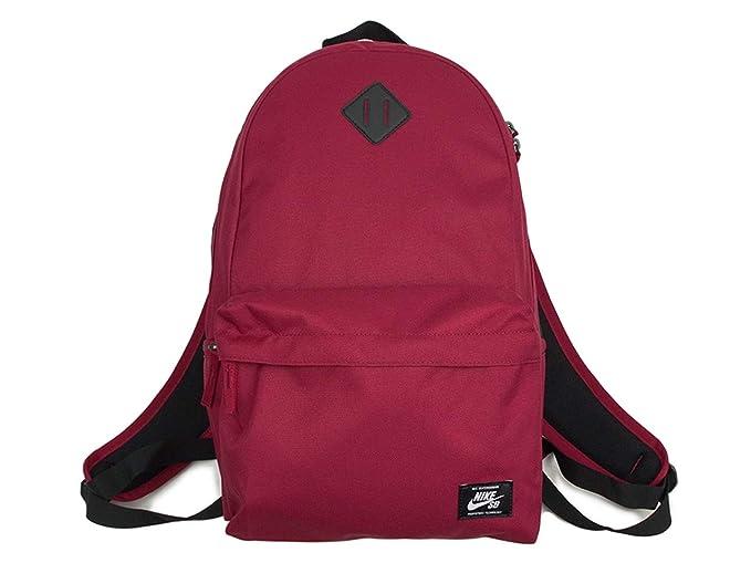Nike SB Icon 26L Backpack Red CrushBlackWhite: Amazon.co