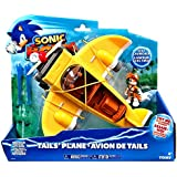 Sonic Boom T22133A the Hedgehog Boom Toy - Tails Plane with Action Figure - Vehicle Playset