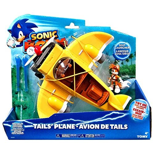 Tomy Sonic Boom - T22133A - Véhicule Miniature - Modèle Simple - Avion d'intervention Sonic Boom