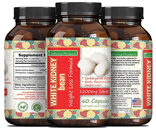 White Kidney Bean Extract - #1 Premium Formula for Weight Lo