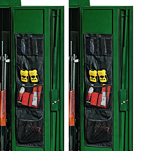 Stack-On SPAO-148 Small Fabric Organizer for Long-Gun Cabinets (Pack of 2) by Stack-On