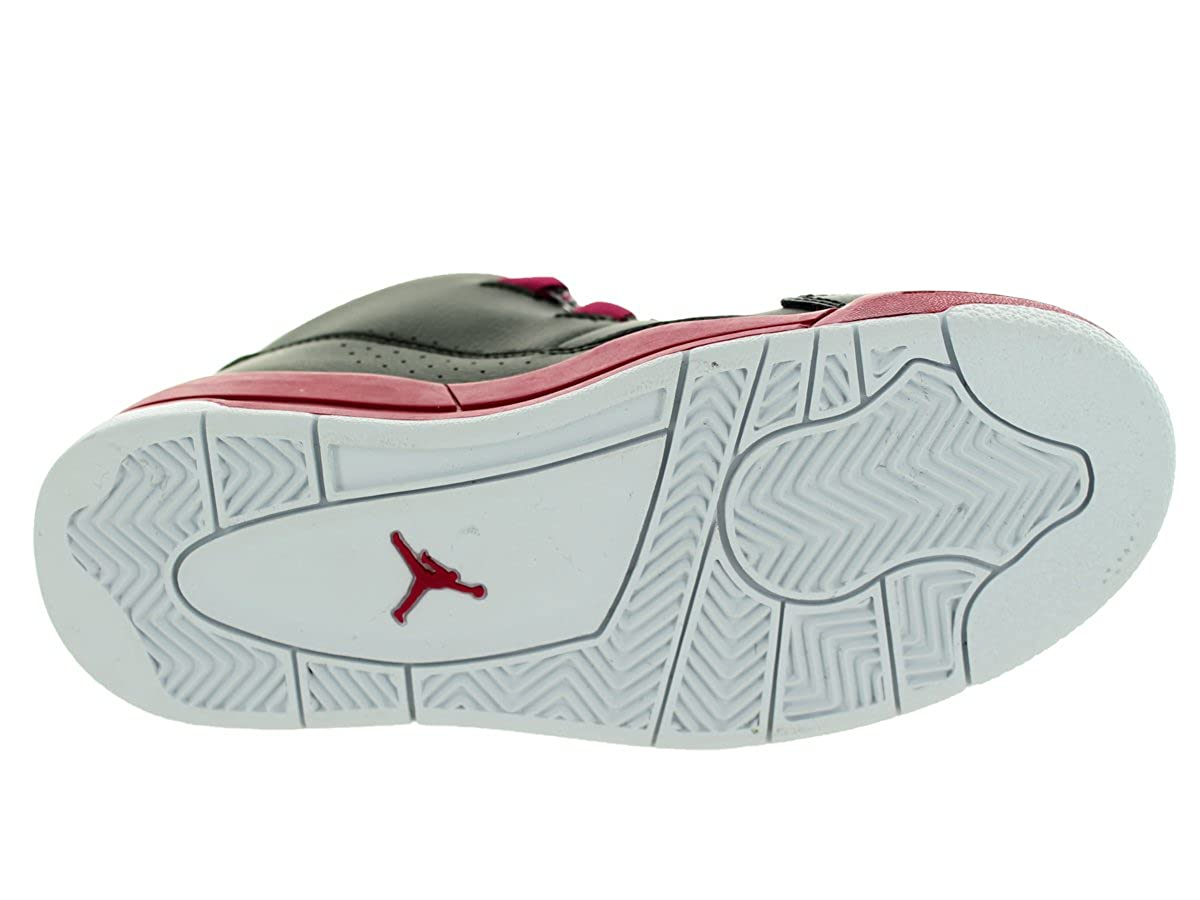 Nike Jordan Kids Jordan Deluxe Gp Black//White//Sport Fuchsia Basketball Shoe 12.5 Kids US