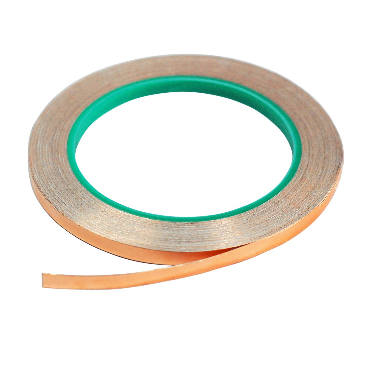 Copper Foil Tape,4Pcs DIKOO Double-Sided Conductive Adhesive (1/4inch X 21.8yards) for EMI Shielding,Slug Repellent,Electrical Repairs,Stained Glass,Art Work,Soldering,Grounding Paper Circuits,Crafts by DIKOO (Image #2)