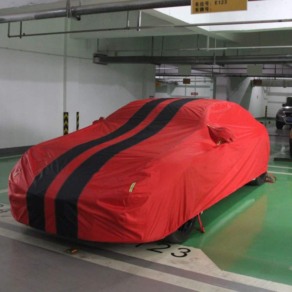 Compatible con Ferrari Pista de California Portofino 599 458 GTB ara/ña for cualquier estaci/ón impermeable y transpirable Polvo UV de coches interior y exterior cubierta del coche completo