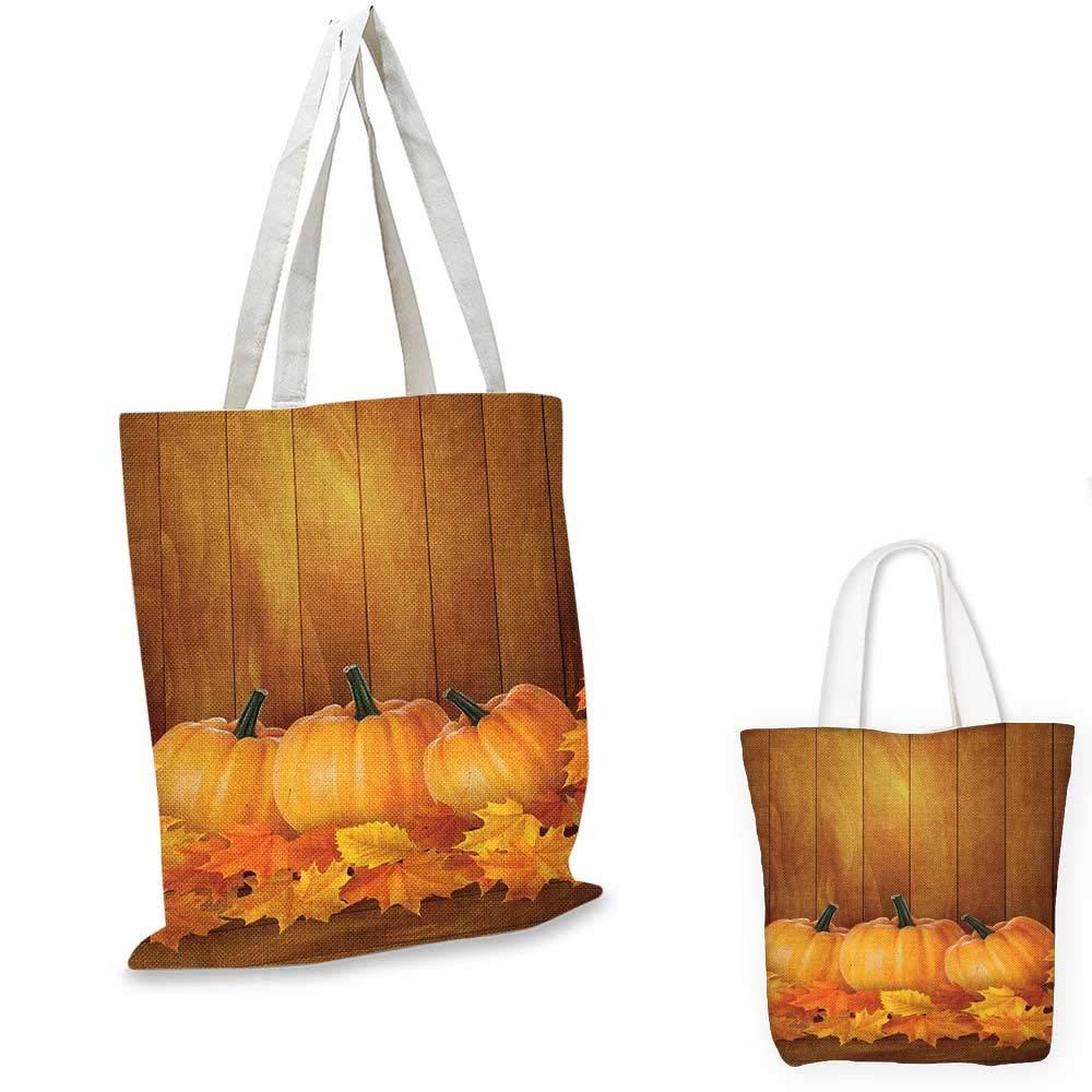 HarvestSquash 野菜パンプキンと木製プランクス フォールンドライメープルリーフ オレンジイエローダークグリーン 14