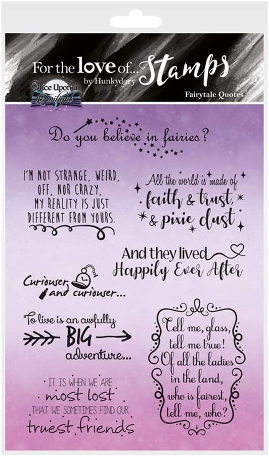 Fairytale Quotes FTLS389 Hunkydory for The Love of Stamps