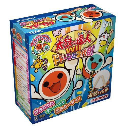 太鼓の達人Wii ドドーンと2代目! (専用太鼓コントローラ「太鼓とバチ」同梱)の商品画像
