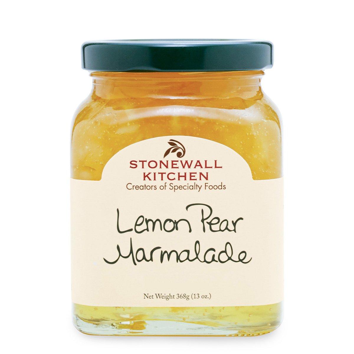 Stonewall Kitchen Lemon Pear Marmalade, 13 Ounces
