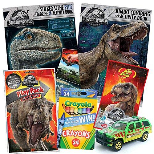 ColorBoxCrate Jurassic World Fallen Kingdom Coloring Book To