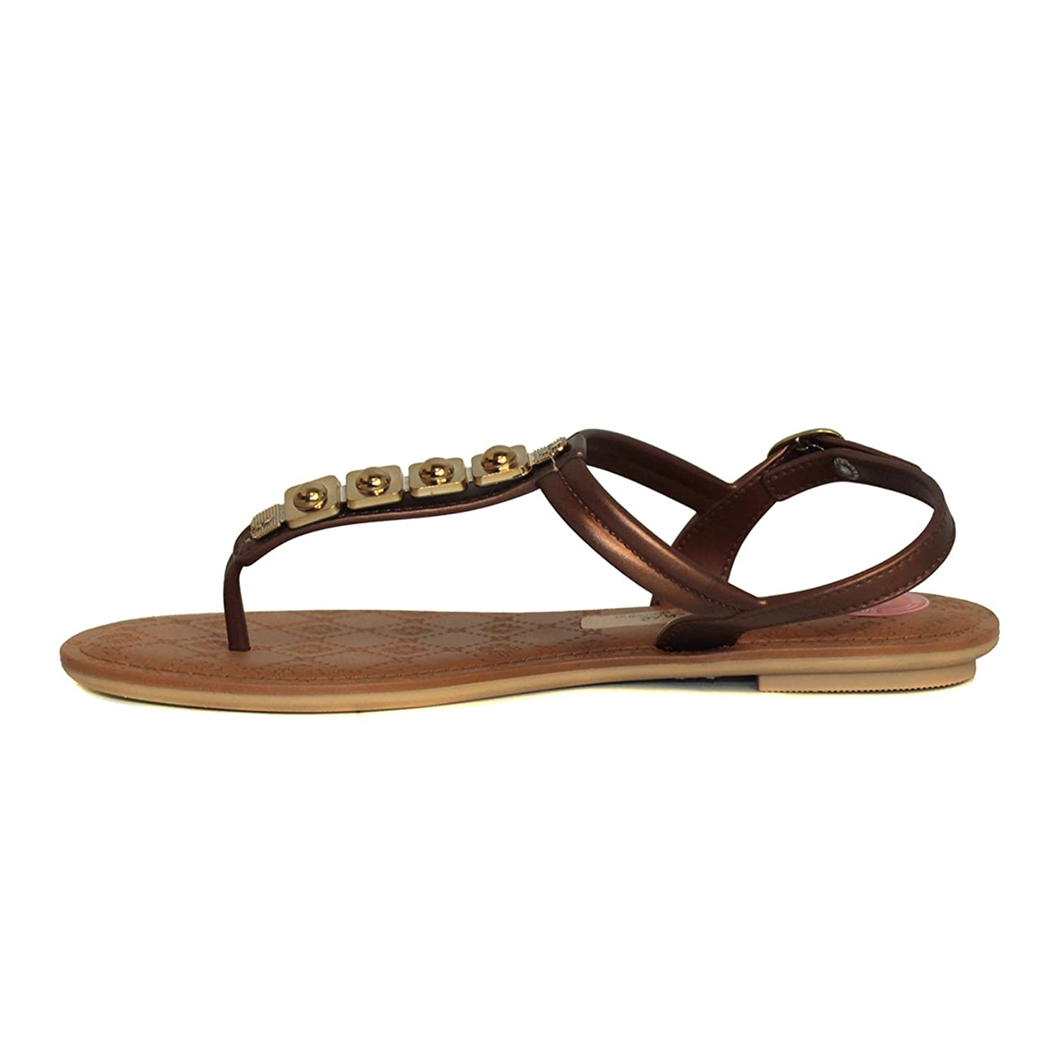 Grendha New Sense Jewel Flip Flops Sandals T-Bar Strap Brazilian EU36-41 3-8:  Amazon.co.uk: Shoes & Bags