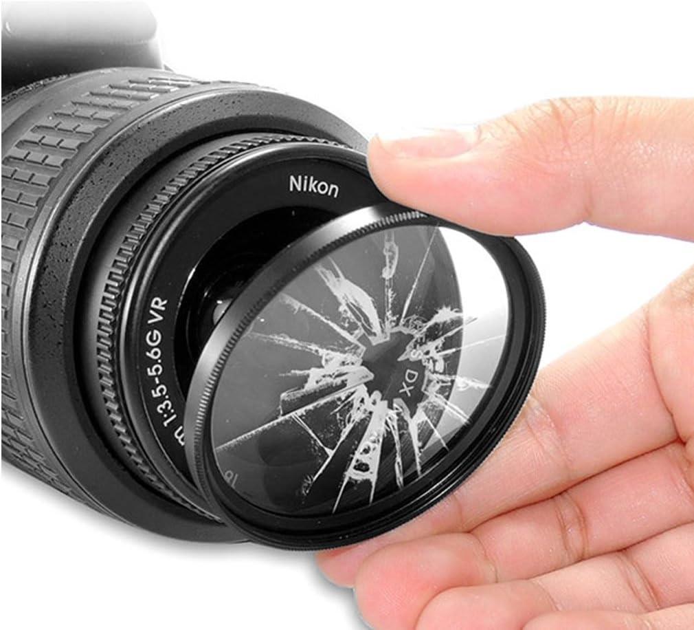 Sony Alpha 850 Reinigungstuch SLT-99V und weitere UV Filter 77mm kompatibel mit Nikon D300S D800 Canon EOS 5D Mark II D4