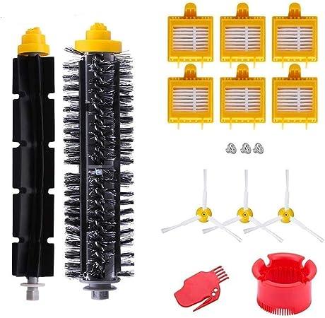 AplusTech Pack Kit Repuestos y Accesorios Filtro y Cepillo Compatible con Aspiradora iRobot Roomba Serie 700 720 750 760 765 770 772 774 775 776 780 782 785 786 790 -Pack de 16PCS: Amazon.es: Hogar