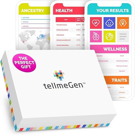 DNA Test Kit tellmeGen Genetic Testing Kit