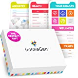 DNA Test Kit tellmeGen | 390+ Reports | Health + Ethnicity (Ancestry Composition) + Genetic Carrier Status + Personal…