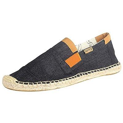 Kentti Men's Fashion Canvas Soft Slip on Flat Espadrilles | Loafers & Slip-Ons