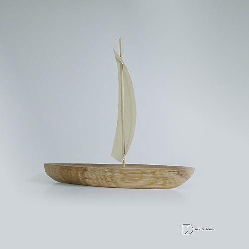 Dekoschiffchen aus Holz