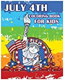 July 4th Coloring Book for Kids: Happy independence day 2016