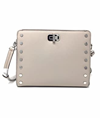 452fc16f7fd23b Image Unavailable. Image not available for. Color: MICHAEL Michael Kors  Sylvie Stud Medium Messenger