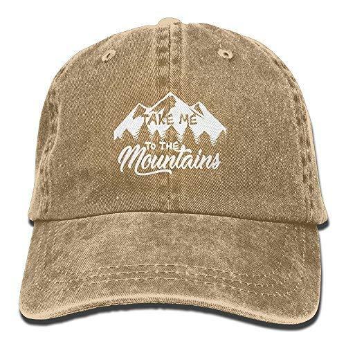 DoaaMota Take Me to The Mountains Cotton Adjustable