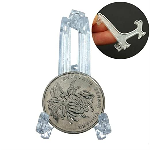 1 opinioni per KING DO WAY Mini Plastica Stand Supporto Piastre Display Cavalletto Titolare Per