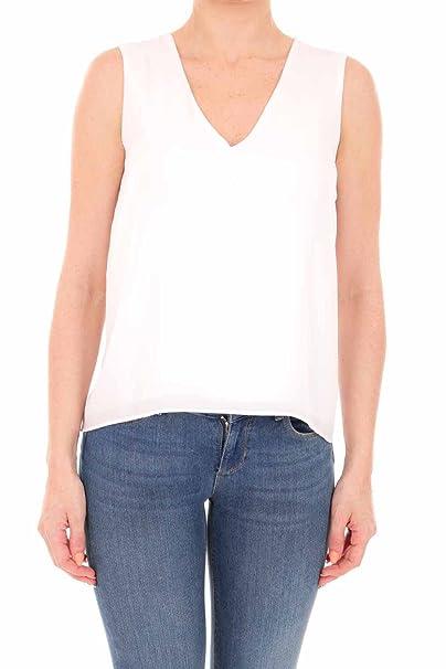 Bianco Mangas es Sin Camiseta Para 42 Liu Amazon Jeans Jo Mujer qtvwO0I