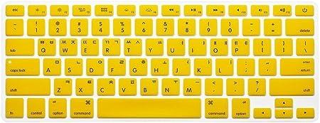 Coreano/Inglés teclado cubierta, HQF® Portátil silicona ...