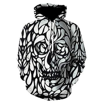 LHKAVE Nuevos Sudaderas Hombre Marca Sudaderas Hombre Joker Impresión 3D Sudadera con Capucha Hombre Casual Chándales,G,XXL: Amazon.es: Hogar