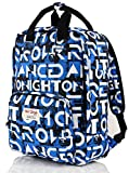 hotstyle FUNNY Monogrammed Printed Backpack Purse Holds 13-inch Laptop - Blue
