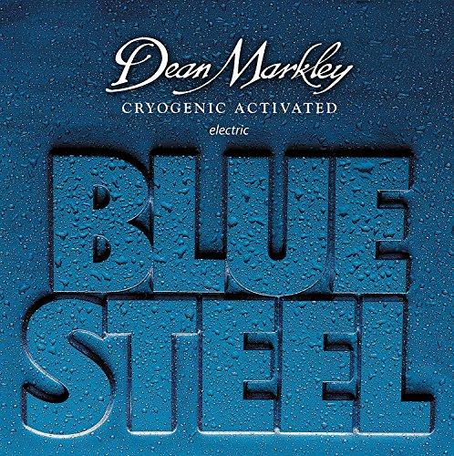 - Dean Markley 2554A Custom Light Blue Steel Electric Guitar Strings (0.09-0.56) 7-Strings